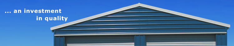 Garages, quality materials, tough construction